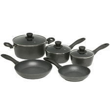 5 Piece Advanced Quartz Stone Cookware Set