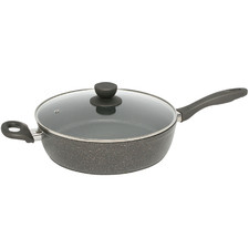 Advanced 28cm Quartz Stone Saute Pan with Lid