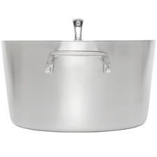 Conical Tri-Ply 24cm Stainless Steel Casserole