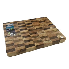 Chequered Acacia & Rubberwood Chopping Board