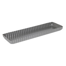 35cm Rectangular Carbon Steel Tart Pan