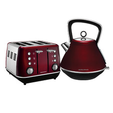 2 Piece Morphy Richards Evoke Core Kettle & Slice Toaster Set