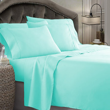 Aqua Ultra Soft 1800TC Microfibre Sheet Set