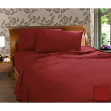 225 Thread Count Percale Cotton and Polyester Sheet Set