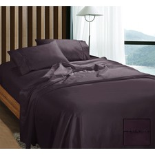 1100 Thread Count Egyptian Cotton Sateen 4 Piece Sheet Set
