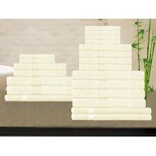 Ultra Soft Egyptian Cotton and Bamboo Bath Mat
