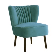 Aqua Slipper Chair