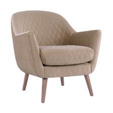 Tan Club Chair