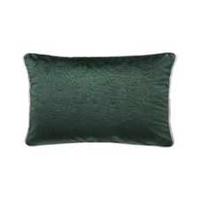 Ivy Green Luxury Velvet Rectangular Cushion