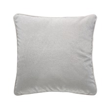 Pebble Grey Luxury Velvet Cushion
