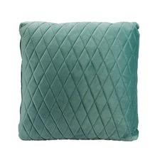 Aqua Coco Velvet Cushion