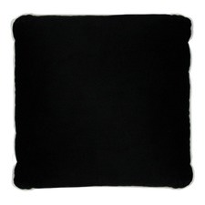 White & Black Luxury Velvet Cushion