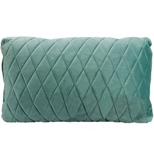 Coco Diamond Stitch Velvet Cushion