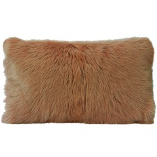 Rectangular Goat Fur Cushion