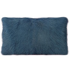 Rectangular Goat Fur Cushion