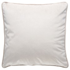 Cream Soho Luxury Velvet Cushion