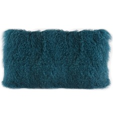 Rectangular Tibetan Lambswool Cushion