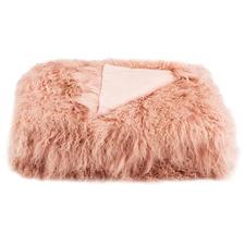 Ayesha Tibetan Fur Throw