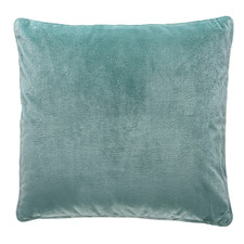 Laine Piped Square Velvet Cushion