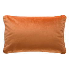 Hermann Piped Rectangular Velvet Cushion