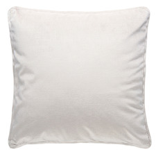 Laine Piped Square Velvet Cushion