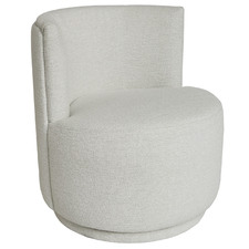 Persson Boucle Swivel Armchair