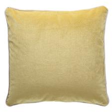 Mustard Yellow Luxury Velvet Cushion