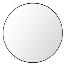 Ludlow Round Steel Wall Mirror