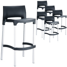 76cm Gao Outdoor Barstools (Set of 6)