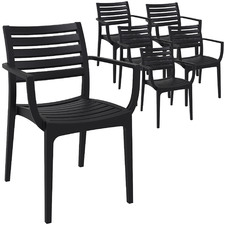 Vesna UV-Stabilised Outdoor Dining Chairs (Set of 6)
