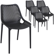 Royston UV-Stabilised Outdoor Dining Chairs (Set of 6)