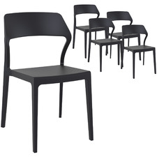Polina UV-Stabilised Outdoor Dining Chairs (Set of 5)