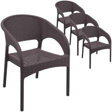 Nayara UV-Stabilised Outdoor Dining Chairs (Set of 4)