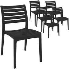 Serena UV-Stabilised Outdoor Dining Chairs (Set of 6)