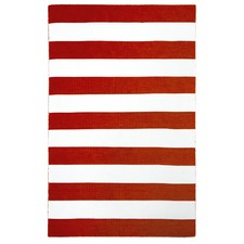 Bold Stripe Orange Rug
