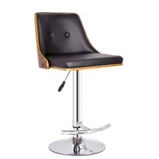 Naples Faux Leather Adjustable Barstool