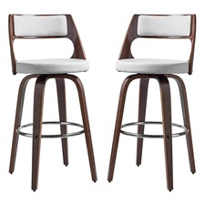 Oslo High Back Barstools (Set of 2)