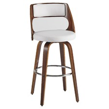White Oslo Barstools (Set of 2)