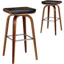 Black Ruby Barstools (Set of 2)
