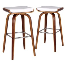 White Ruby Barstools (Set of 2)