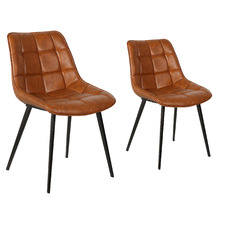 Alucard Faux Leather Dining Chairs (Set of 2)