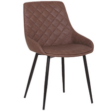 Lago Faux Leather Dining Chairs (Set of 2)