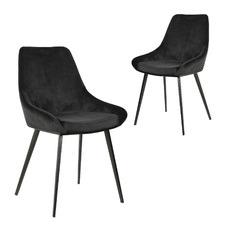 Daimyo Velvet Dining Chairs (Set of 2)