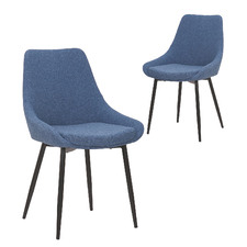 Daimyo Upholstered Dining Chairs (Set of 2)