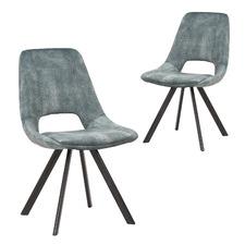 Lucas Velvet Dining Chairs (Set of 2)