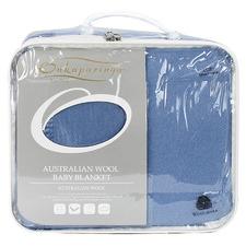 Australian Wool Cot Blanket