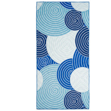Spotted Circles 500GSM 4-in-1 Beach Towel