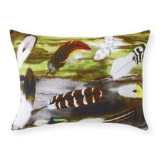 Duck Oblong Cushion With Insert