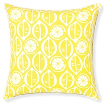 Riviera Lemons Cushion