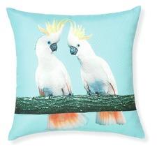 Riviera Cockatoo Cushion